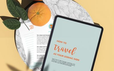 How To Travel Like Your Zodiac (Free e-book)